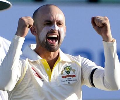 Lyon charged by ICC for AB de Villiers send-off