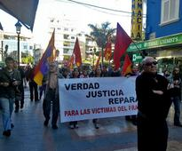 Fuengirola: Protest against fascism, for victims of Francoism