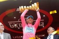 Vincenzo Nibali officially takes Giro d'Italia title, adding to 2013 title