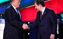 Trump resumes 'spat' with Cruz