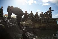 U.S. Marines dive into French commando course