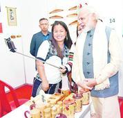 NE progress on Modi lips