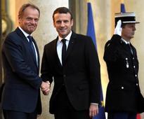France's Macron, Tusk begin work on European overhaul