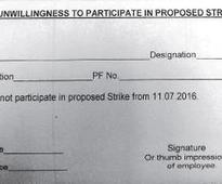 WR demands written support from staff