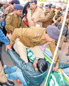 Bus blues, violence on bandh day