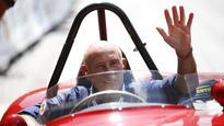 Sir Stirling Moss in hospital with chest infection