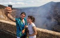Why tourists are flocking to this active volcano