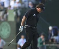More US Open agony for Mickelson