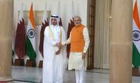 Modi holds delegation-level talks with Qatar PM