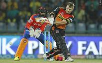 Warner fires Hyderabad to final