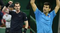 Qatar Open: Andy Murray, Novak Djokovic set up final showdown