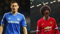 Manchester United close to signing Chelsea's Nemanja Matic, Marouane Fellaini likely to join Galatasaray