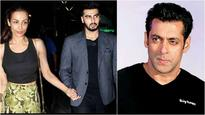 Buzz is: Arjun Kapoor trying to extend an olive branch to Salman Khan?