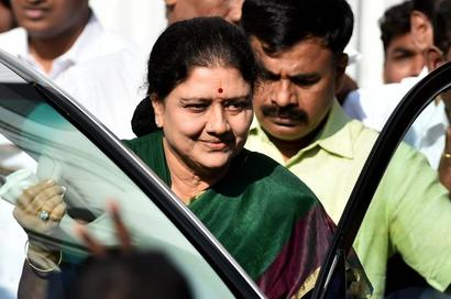 Sasikala granted 5-day parole to visit ailing husband