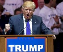 Donald Trump brushes off protests, says he can win without Republican unit