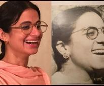 Revealed: Rasika Dugal's look as Safia Manto in MANTO - News