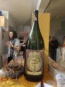 Ahead of surgery, man finally opens giant bottle of wine from 1995 Tuktoyaktuk concert
