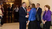 Peace talks dominate US official's Cyprus visit