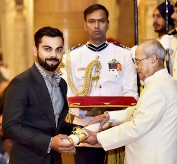 Padma honours for Kohli, Dipa Malik among other sports stars