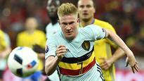 Kevin De Bruyne on song for Belgium in victory over Sweden