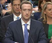 Facebook's Mark Zuckerberg testifies before US Congress