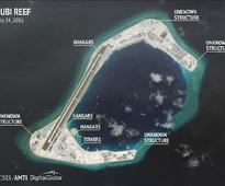 Report: China Building Reinforced Hangars on Disputed Islands