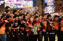Sunrisers Hyderabad celebrate maiden IPL title