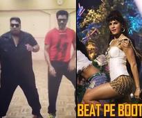Prabhu Dheva and Ganesh Acharya take up Jacqueline's Beat pe booty challenge
