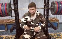 Chechen strongman Ramzan Kadyrov 'pauses' workout to laugh off US sanctions in Instagram video