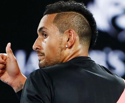 Kyrgios bows out defeated but wins over Australia