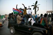 Gambia's Jammeh, facing military pressure, says steps down