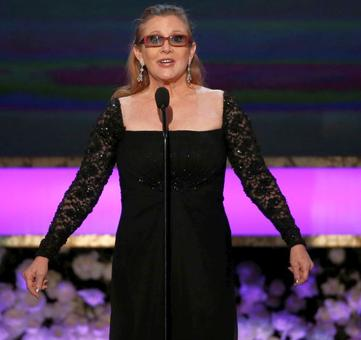 Iconic Star Wars actress Carrie Fisher dies aged 60