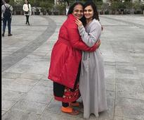 Shweta Rohira and her mother Kaajal had a blast in Hong Kong