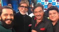 Amitabh Bachchan, Shatrughan Sinha come together after 35 years and it's a cracker, see pics