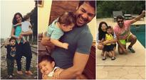 Shabbir Ahluwalia and Kanchi Kaul are the most fun parents to their two sons, see pics