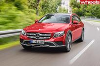 2016 Paris Motor Show: 2017 Mercedes-Benz E-Class All-Terrain revealed