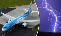 Plane forced into emergency landing after being struck by lightning MID-AIR