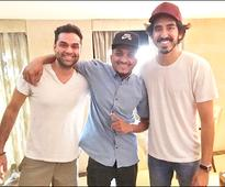 Check out Dev Patel hangs out with Abhay Deol and rapper Divine