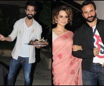 Shahid Kapoor's RANGOON co-stars Kangana & Saif gives his b-day bash a miss - News