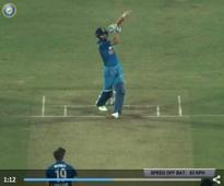 Must-see Video: Virat Kohli's unbelievable 6 off Chris Woakes in 1st ODI