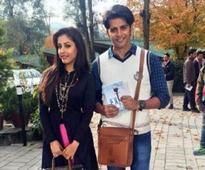 Priya Banerjee and Karanvir Bohra in 'Humein Tumse Pyar Kitna'