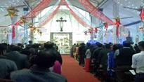 Jammu and Kashmir churches lit up for Christmas celebrations