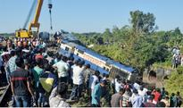 Two killed as train  derails in W. Bengal