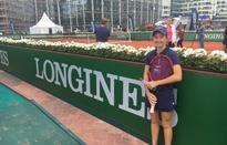 Lara Walker in Paris for Longines Future Tennis Aces