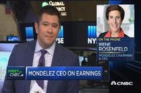 Mondelez CEO Rosenfeld says the company controls what it can in tough market
