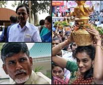 KCR and Chandrababu Naidu claim PV Sindhu but she ...