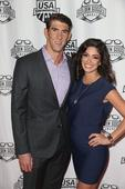 Michael Phelps and Nicole Johnson Are So Cute They Deserve a Gold Medal