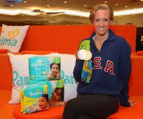 Pampers Congratulates Dana Vollmer, U.S. Olympic Swimmer and New Mom, for Winning Bronze, Silver and Gold Medals at the Rio 2016 Olympic Games