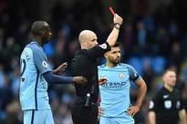 Pep Guardiola dealt another blow as Sergio Aguero handed four match ban for horror tackle on David Luiz