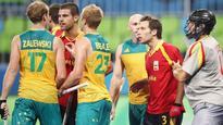 Australian hockey player Aran Zalewski suspended for stick to head at Rio Olympics